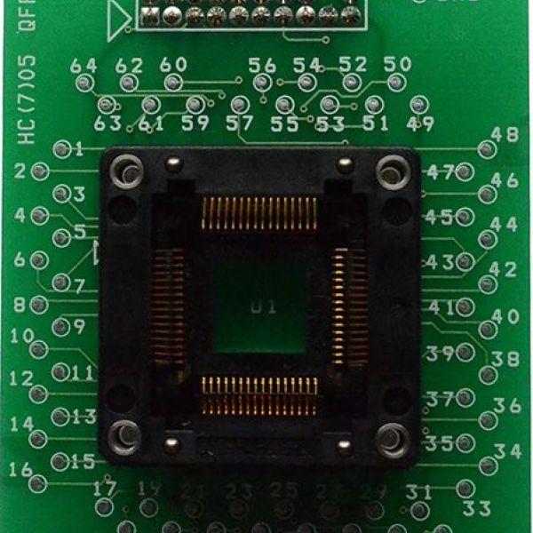 Адаптер для MC68HC (7) 05 QFP64