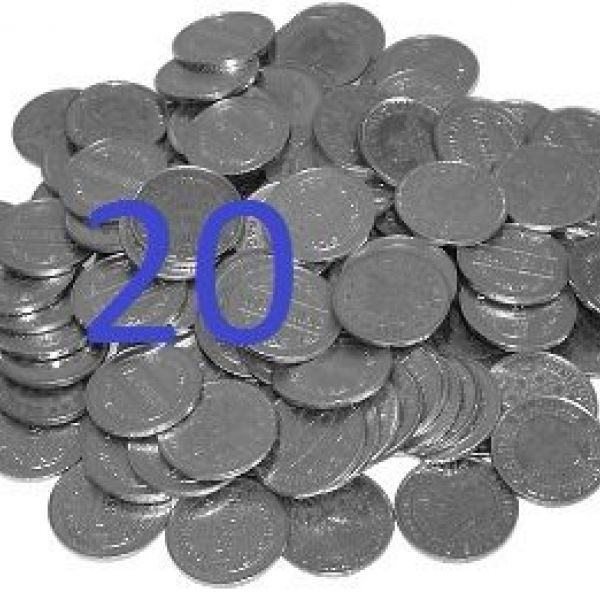 Electronic tokens 20