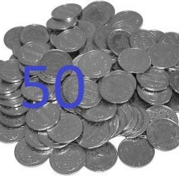 Electronic tokens 50