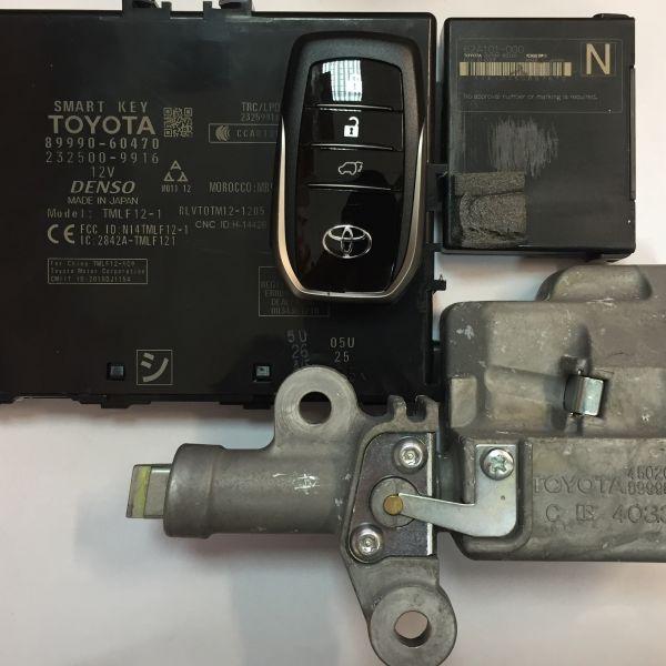 Комплект Smart key для Toyota LC200 2015-