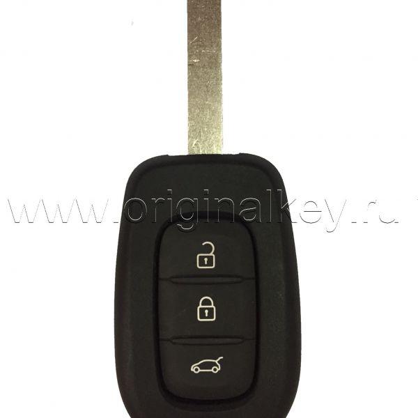 Ключ для Renault Kadjar 2015-, Megane 2016-, Twingo 2014-, HITAG AES