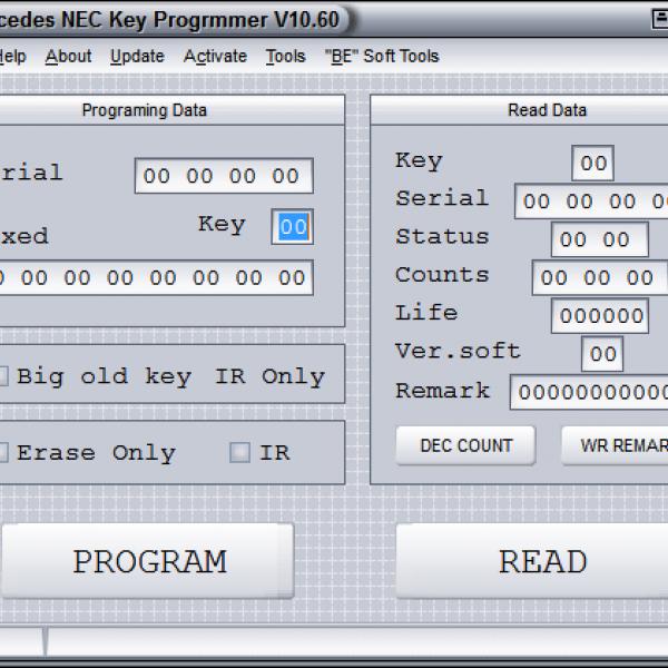 NEC Key Programmer v.10.60