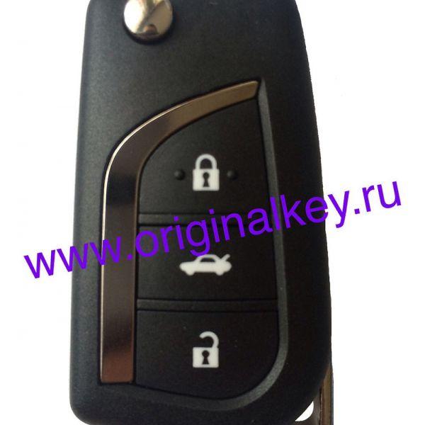 Ключ для Toyota Avensis 2011-, Verso 2012-, 4Dx80