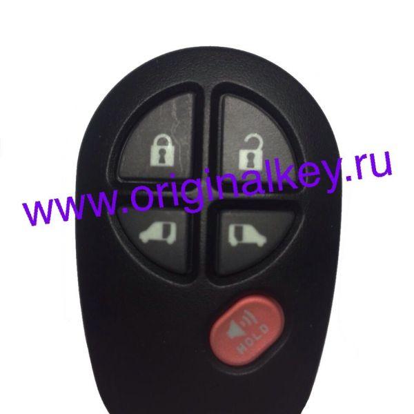 Брелок центрального замка для SIENNA 2006-2010, GQ43VT20T, 5 Buttons