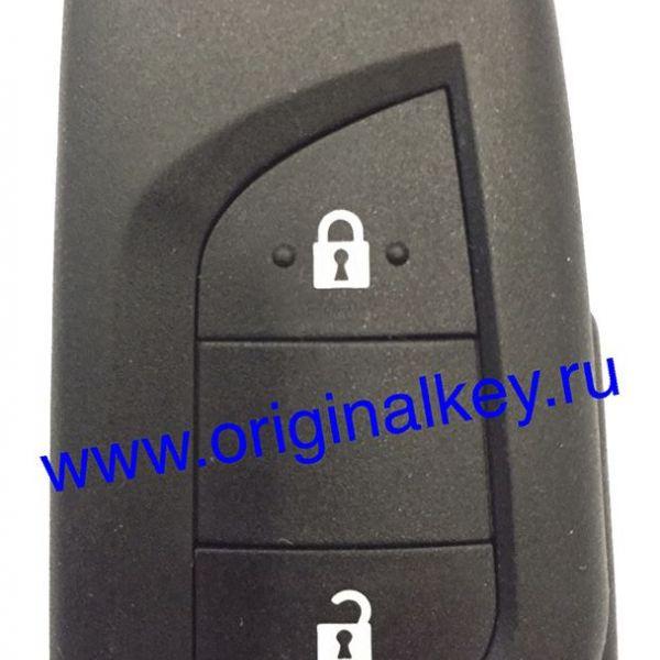 Ключ для Toyota AYGO 2014-, AURIS 2013-, COROLLA 2015-