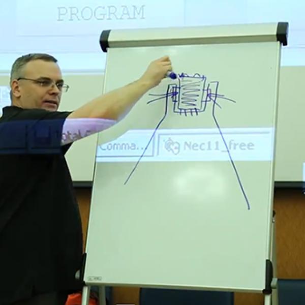 Лекция по практической работе с оборудованием MB Prog