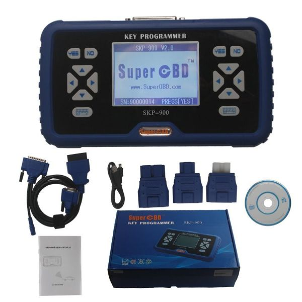 Автомобильный программатор ключей SKP-900