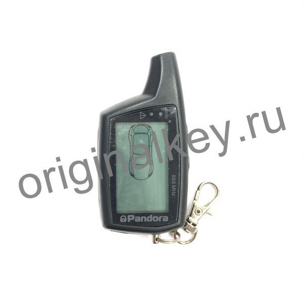 Брелок LCD DXL 078 black DX 50B v.1.1 для сигнализации Pandora