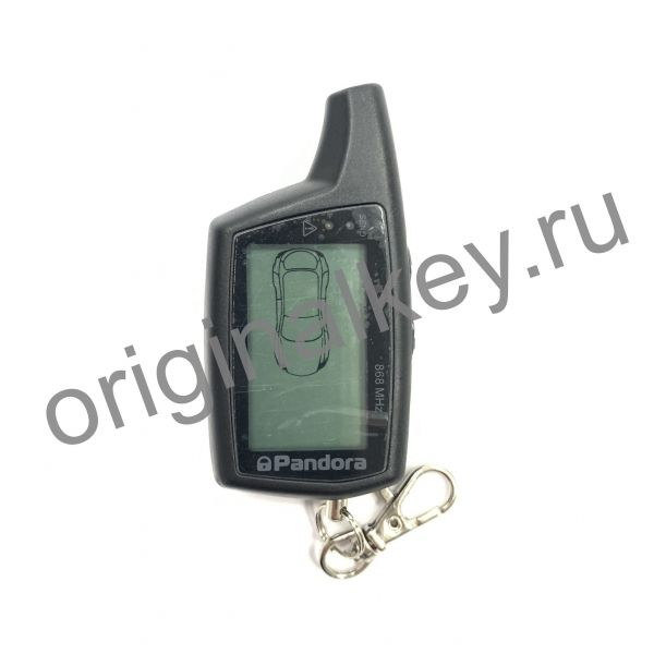 Брелок LCD DXL 079 black DX 50 S для сигнализации Pandora
