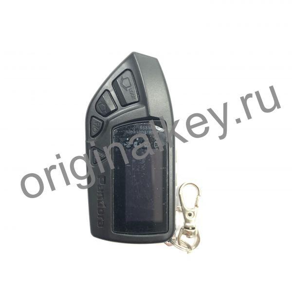 Брелок LCD DXL 670 black для сигнализации Pandora