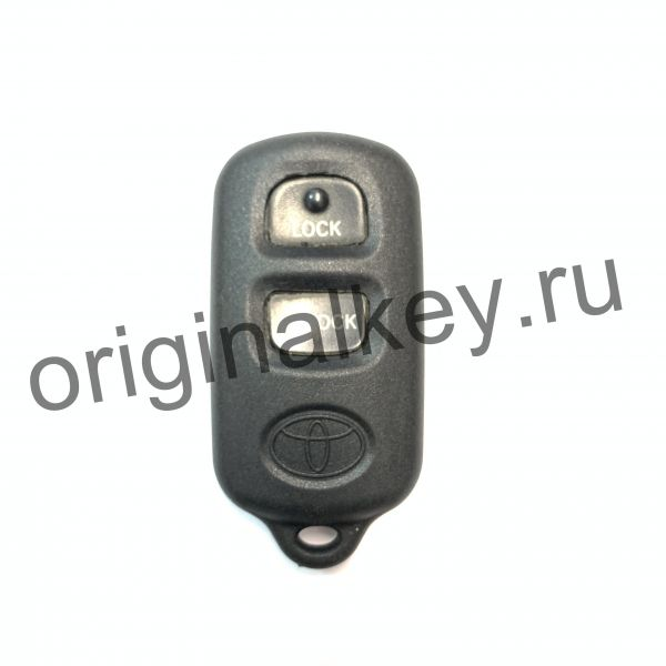 Брелок центрального замка для автомобилей TOYOTA Celica (ZZT23#), Prius (NHW11), RAV4 (АСА2#), ECHO (NCP12), HIGHLANDER (ACU2#,MCU2#), FJ CRUISER (GSJ1#)