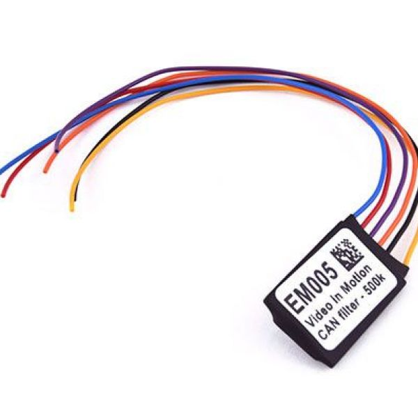 EM005- Видео в движение CAN эмулятор 500k