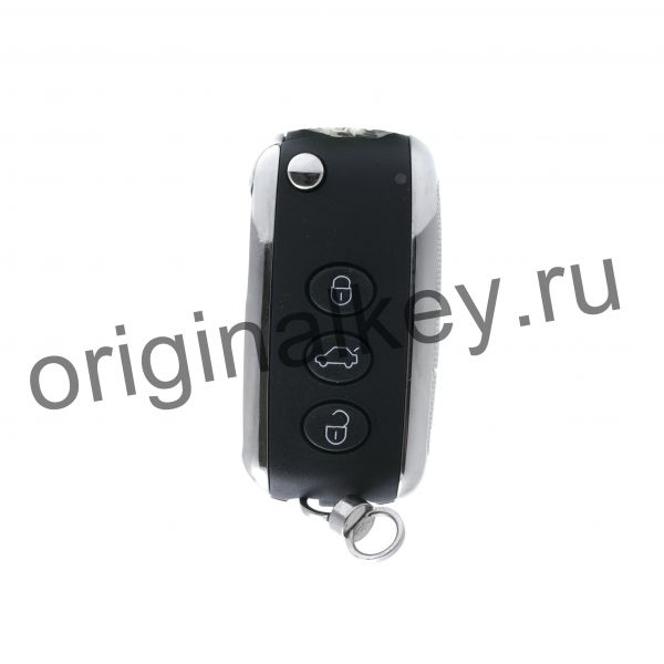 Ключ для Bentley Continental GT, Continental Flying Spur, Keyless Go, Panic, 315 Mhz, PCF7943