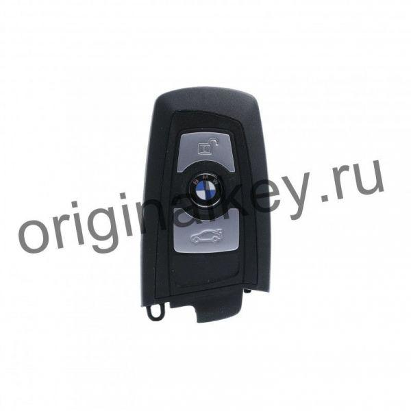 Чип ключ БМВ F-серии EWS5 (FEM) -2014, Black, 434 Mhz