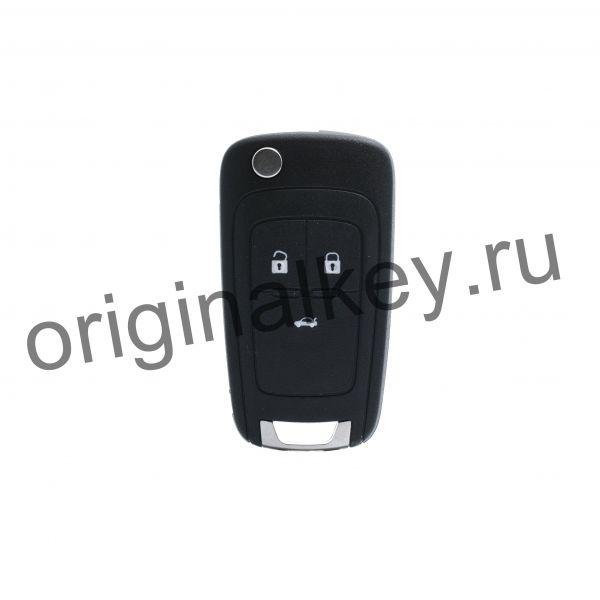 Ключ для Chevrolet Cruze 2011-, Malibu 2013-2016, Keyless Go, 433