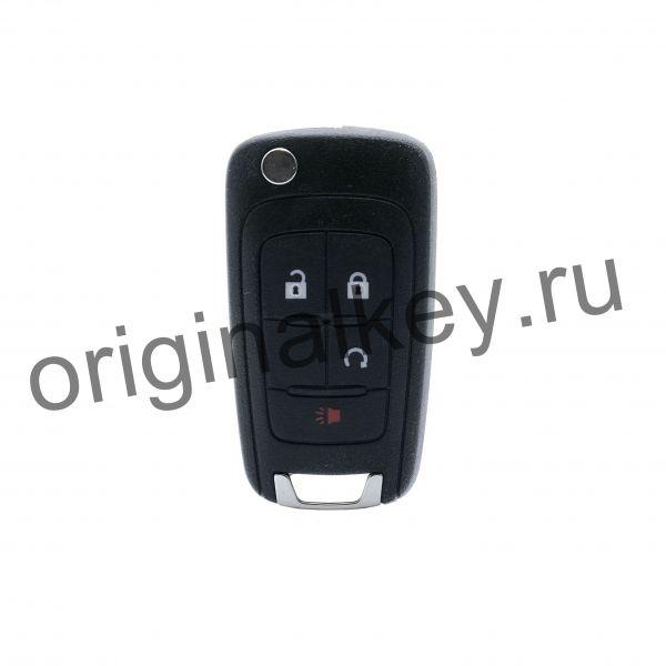 Ключ для Chevrolet Equinox с 2010, Camaro с 2010, Cruze с 2011, Impala с 2014, Malibu с 2014, Sonic с 2014, 315 Mhz