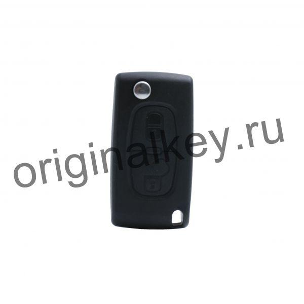 Ключ для Citroen C8 2006-2009, Dispatch 2006-2009, Jumpy 2008-2009, PCF7941, HU83