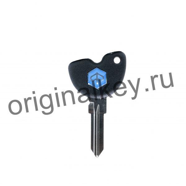 Ключ для мотоциклов и скутеров PIAGGIO с иммобилайзером . Чип TEMIC ID11.
