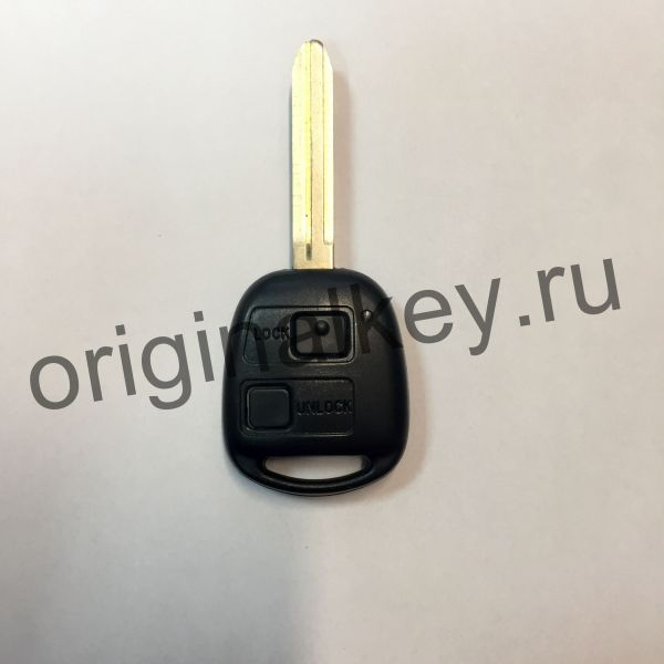 Ключ для Toyota Camry 1999-2000, Corolla 2000-2004, Hiace 2001-2006, Land Cruiser 90 2000-2002, LC 100 1998-2002, Avensis Verso 2001-2003, Previa/Tarago 2003, Rav4 2000-2003