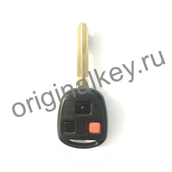 Ключ для Toyota Land Cruiser 2005-2007, FJ Cruiser 2007-2009