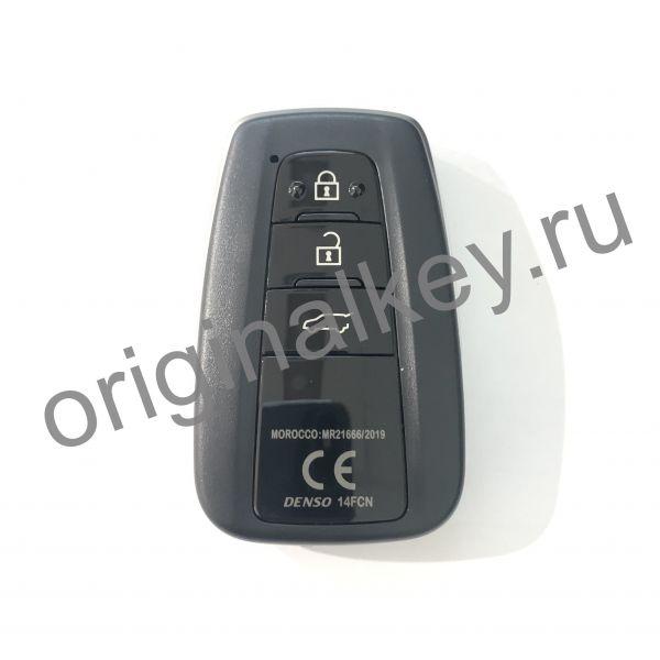 Ключ для Toyota Land Cruiser Prado 2020-, DENSO 14FCN