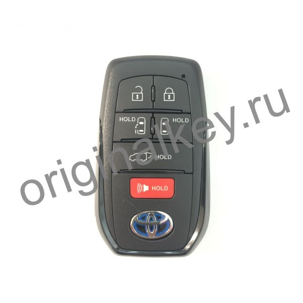 Ключ для Toyota Sienna 2020-, Trunk, 14FBX