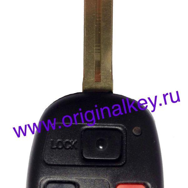 Ключ для Lexus GX470 2002-2009, LX470 2002-2007, 4D68