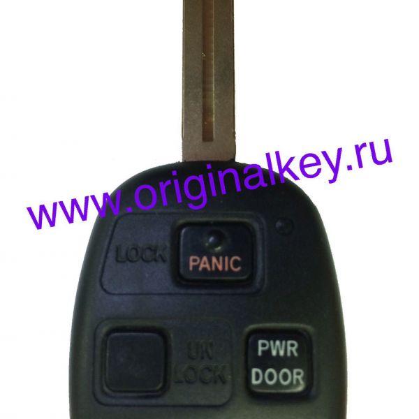 Ключ для Lexus RX 2003-2009, 315Mhz, чип 4D68