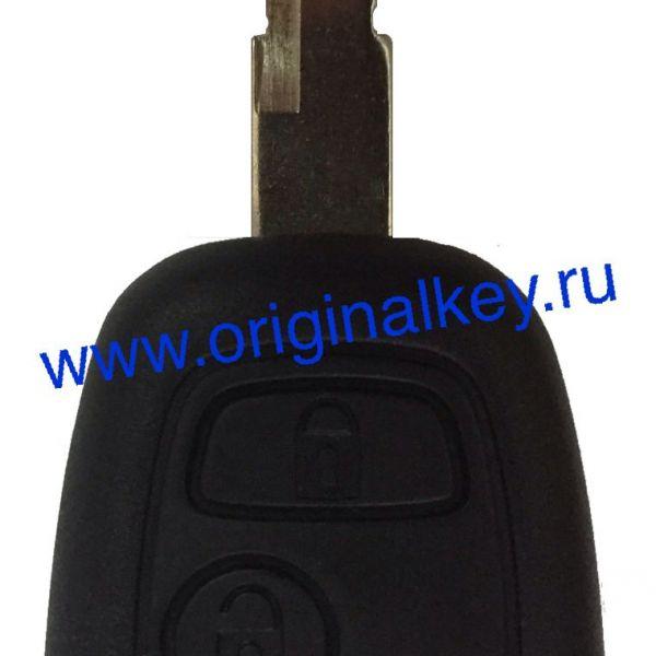 Ключ для Peugeot 206 с 2005 года, PCF7936