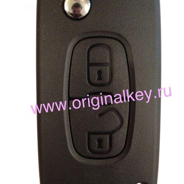 Ключ для Peugeot 4007 с 2008 года