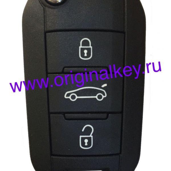 Ключ для Peugeot 508 2010-, PCF7941, VA2