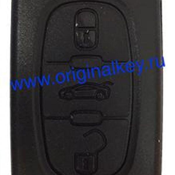 Ключ для Peugeot RCZ 2009-, 408 2012-, 308CC 2008-2014