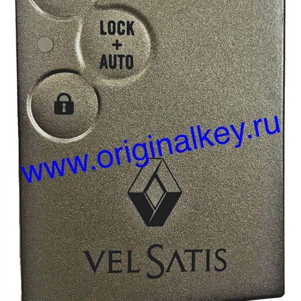 Ключ для Renault Vel Satis 2002-2007, 433Mhz, PCF7947