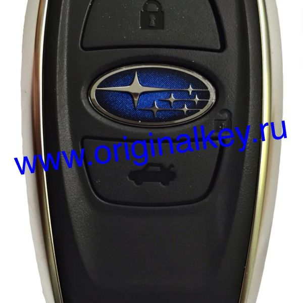 Ключ для Subaru BRZ 2014-, Legacy 2016-, Impreza 2016-, XV 2017-, Forester 2014-