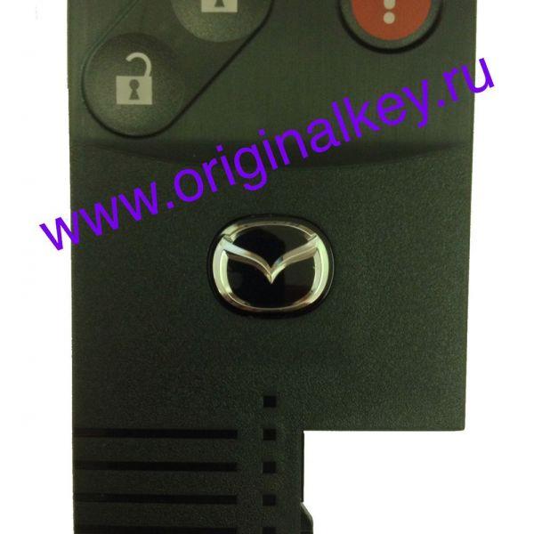 Ключ-карта для Mazda CX-7 и CX-9 с 2007 по 2009 год, KeyLess Go, 315Mhz
