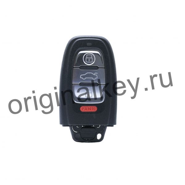 Key for Audi А4, А5, А6, А7, А8, Q5 2008-, 315 Mhz, Panic, Keyless Go