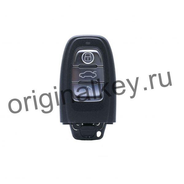 Ключ для Audi A4, A5, A6, A7, A8, Q5 с 2008 г., 868 Mhz, Keyless Go