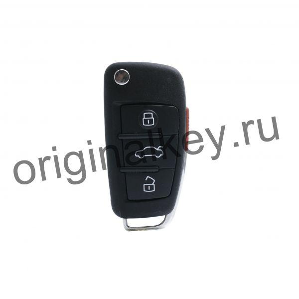 Ключ для Audi A6 2004-2011, Q7 2005-2015, Allroad 2006-2012, 315MHz, Keyless Go