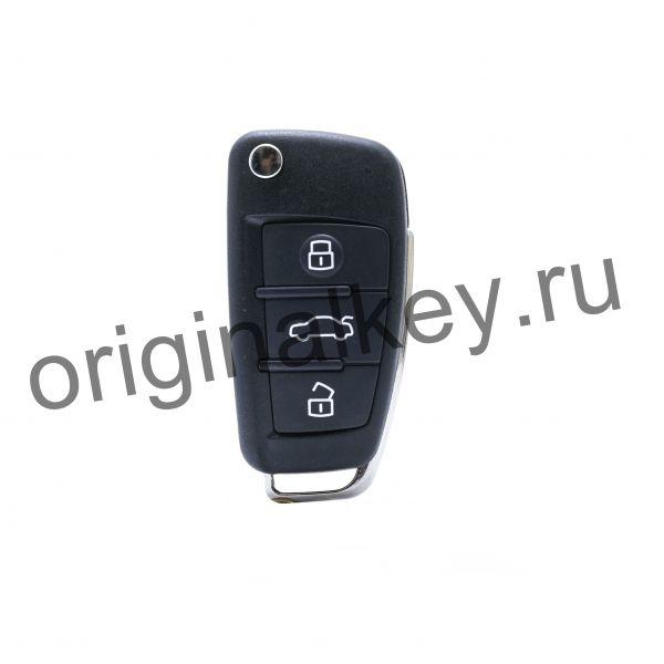Ключ для Audi A1 2011-, Q3 2012-, Keyless Go, 433MHz