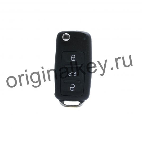 Ключ для Beetle 2012-2015, Eos 2011-2015, Golf 6 2010-2014, Jetta 2011-2015, Scirocco 2009-2013, Sharan 2011-2015, Tiguan 2012-2015, Keyless Go