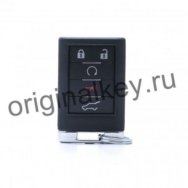 Ключ для Cadillac SRX 2007-2009, CTS 2012-2014, 433 MHZ, Driver 2