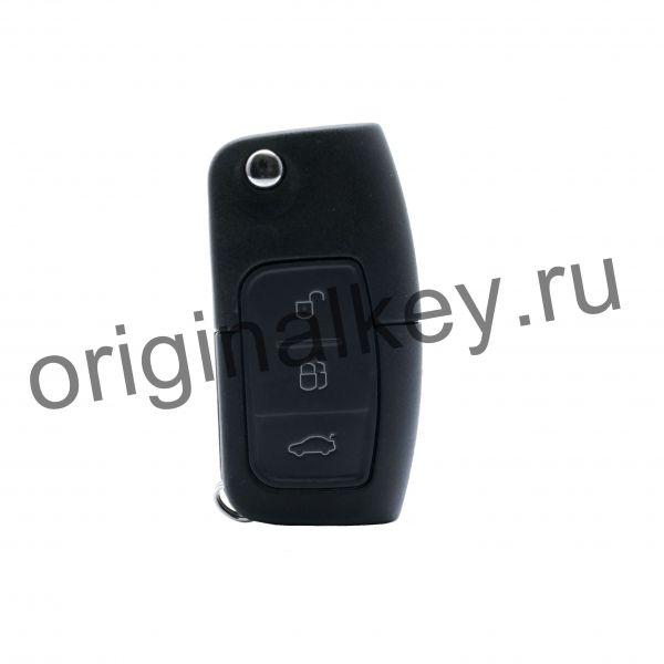 Ключ для Ford Focus 2 2008-2011, Mondeo 4 2007-2011, S-MAX/Galaxy 2006-2011, C-MAX 2007-2010, Fiesta 2008-2012, 433 Mhz