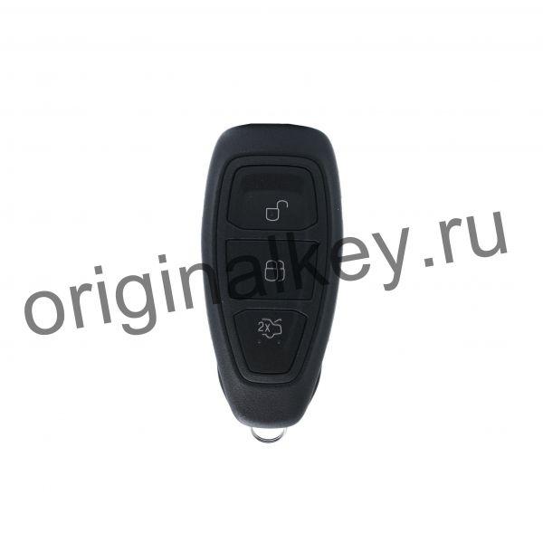 Ключ для Ford Focus 3 2011-2015, Mondeo 4 2011-2015, Kuga 2012-2016, 4D63x80, Keyless Go, 433MHz