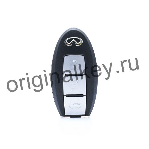 Ключ для Infiniti G37 Coupe 2008-2016, G37 Convertible 2009-2016, G35/37/25 Sedan 2008-2013, PCF7952