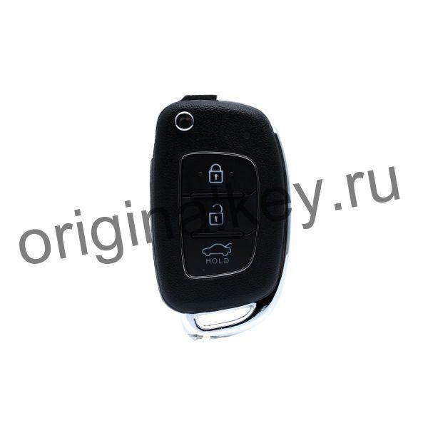 Ключ для Hyundai Elantra 2015-, 4D60x80