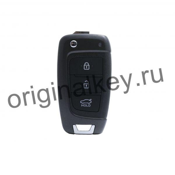 Ключ для Hyundai Solaris 2017-, 4D60x80