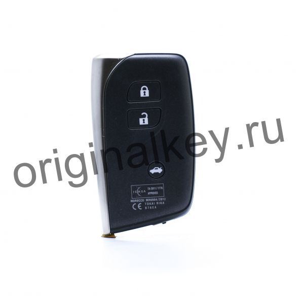 Ключ для Lexus LS600H/600HL 2012-2017, MDL B76EA, Hybrid