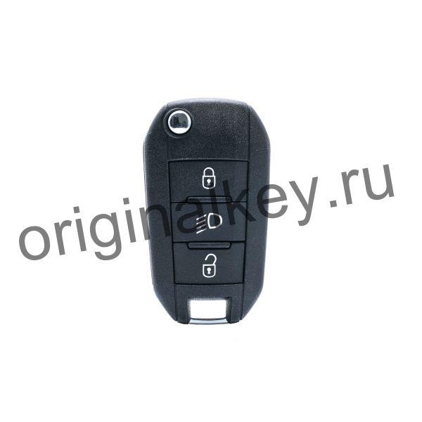 Ключ для Peugeot 208 2012-2016, 308 2014-2016, 2008 2013-2016, PCF7941, HU83