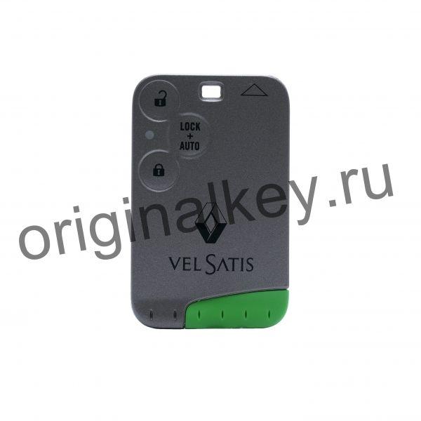 Ключ для Renault Vel Satis 2002-2007, 433 Mhz, PCF7947