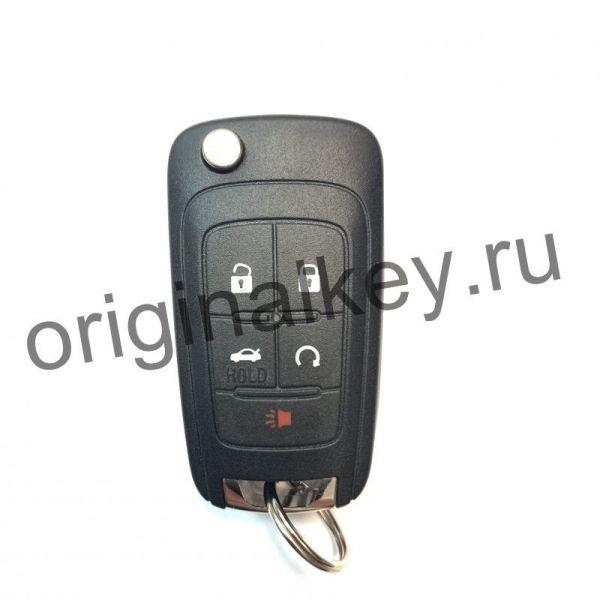 Ключ для Chevrolet Camaro 2011-2015, Impala 2014-2018, Keyless Go, 434 Mhz